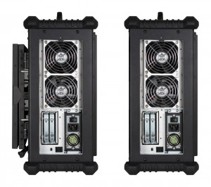 Vigor EX right side ports and hard drives