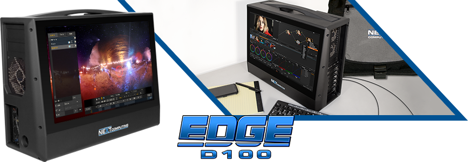 Edge D100 portable media creation workstation