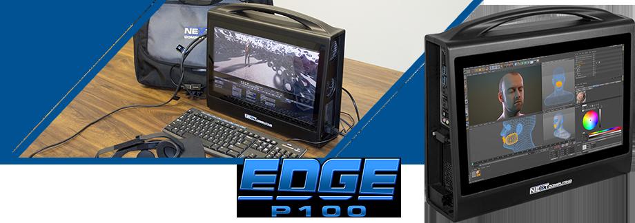Edge P100 portable media creation workstation