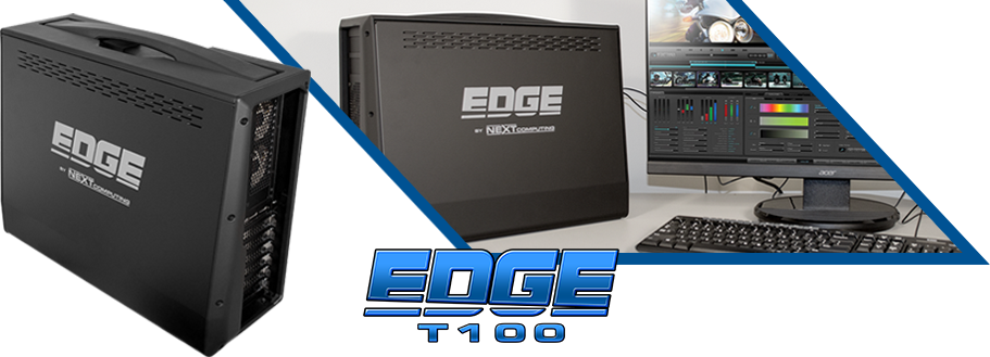 Edge T100 portable media creation workstation