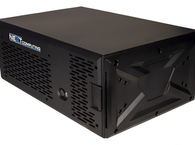 NextServer X front/side view