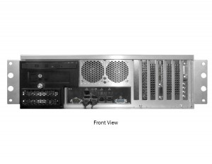Nucleus Front I/O front ports, drives, and PCI