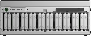 Radius PRM front hard drives