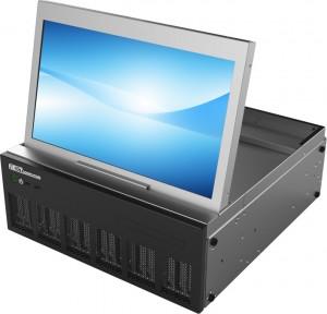 Radius PRM with integrated monitor