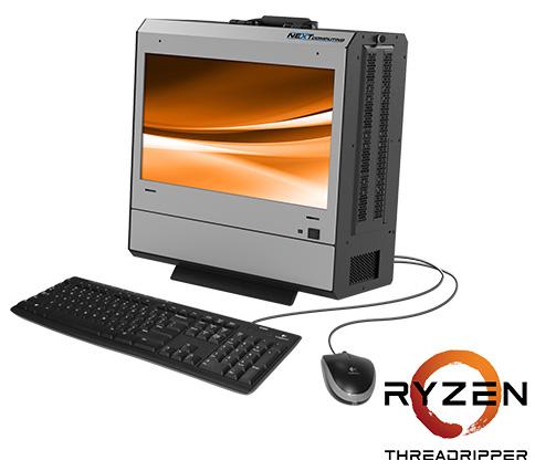 Radius TR mobile workstation with the AMD Ryzen Threadripper processor