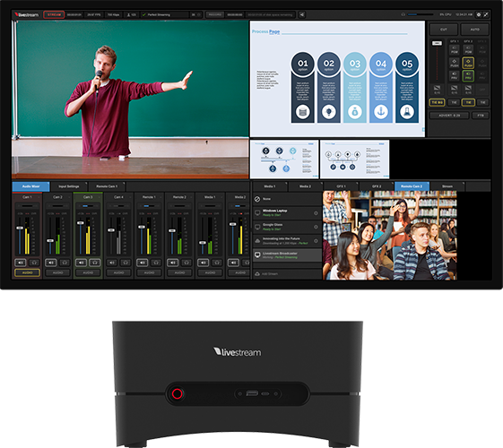 livestream studio one edu