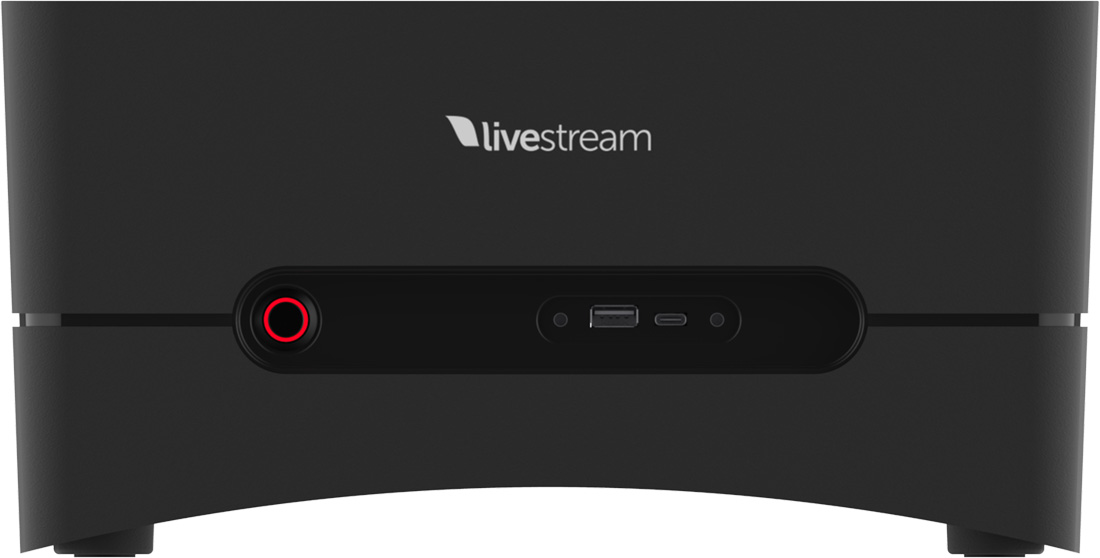 Livestream Studio powered Studio One switcher and encoder