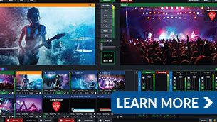 workstations optimized for vMix Live Production & Streaming Software