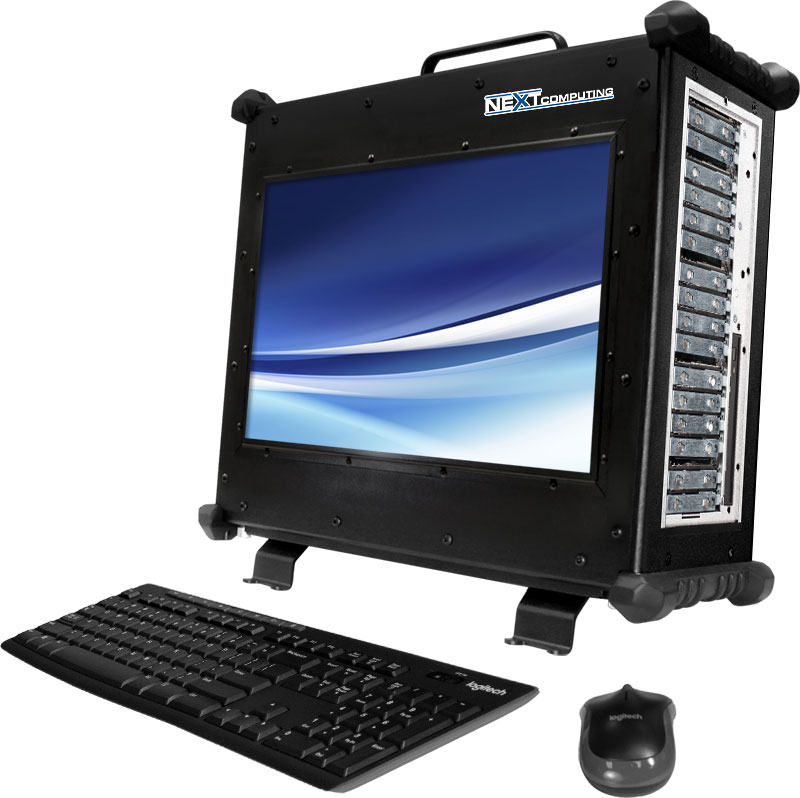 Vigor EDS rugged portable workstation